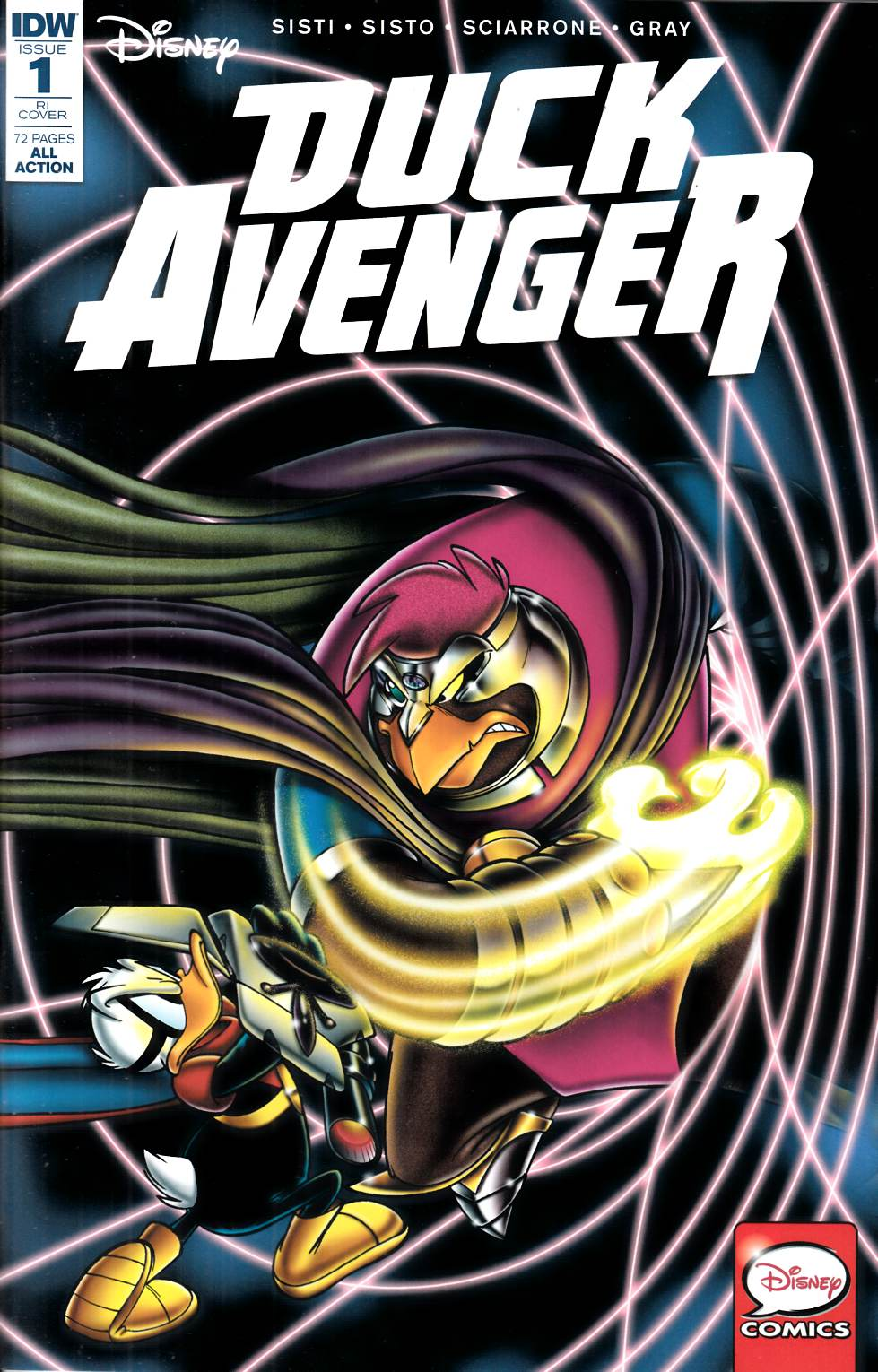 Duck Avenger #1 Cover RI [IDW Comic]