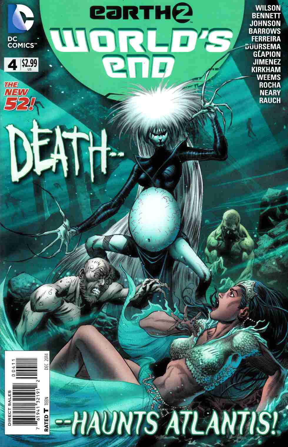Earth 2 Worlds End #4 [DC Comic] LARGE