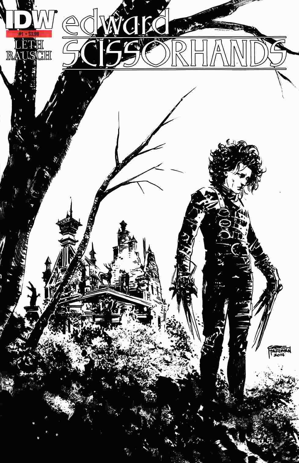 Edward Scissorhands #1 Second Printing [Comic]