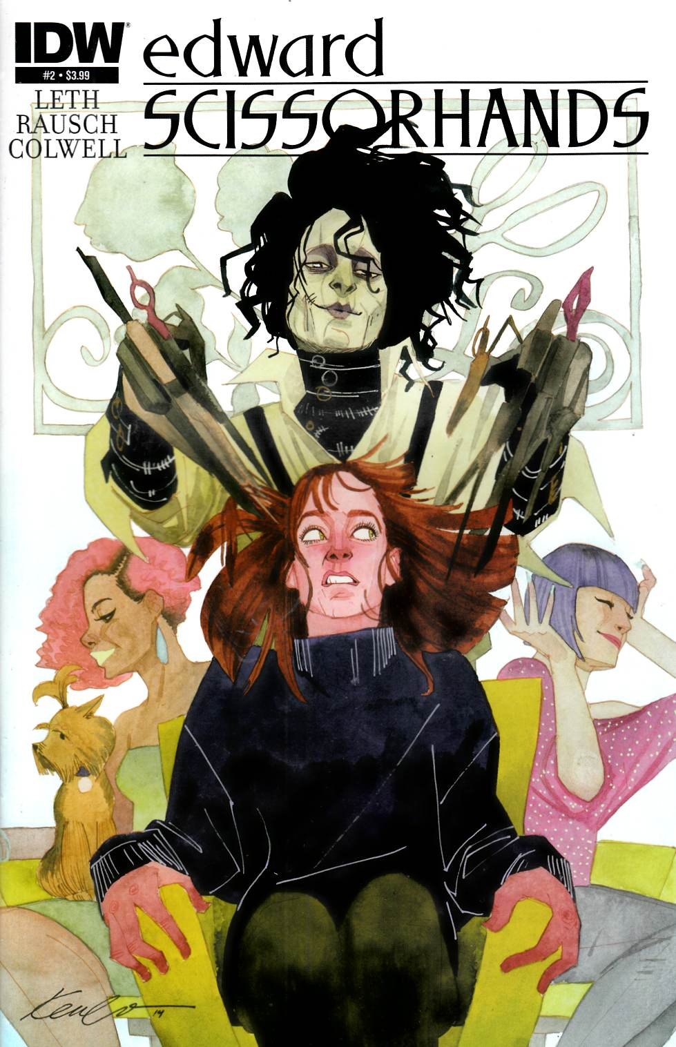 Edward Scissorhands #2 [IDW Comic]