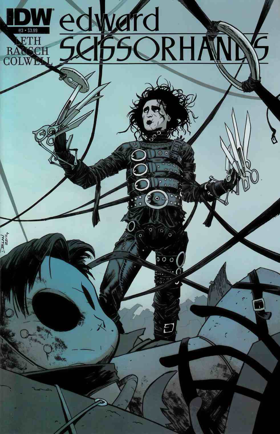 Edward Scissorhands #3 [IDW Comic] THUMBNAIL
