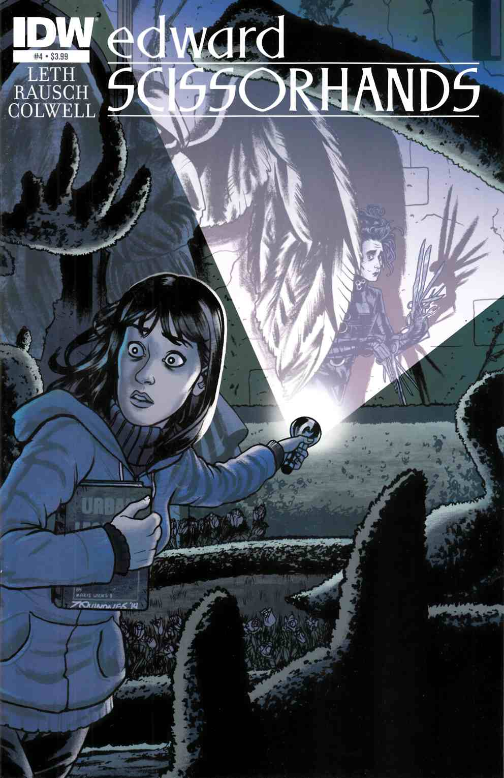 Edward Scissorhands #4 [IDW Comic]