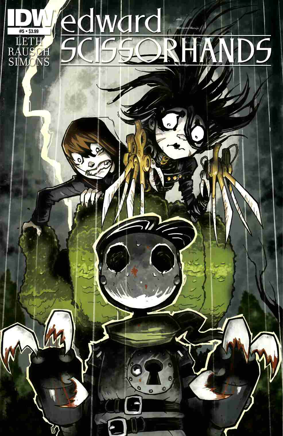 Edward Scissorhands #5 [IDW Comic]