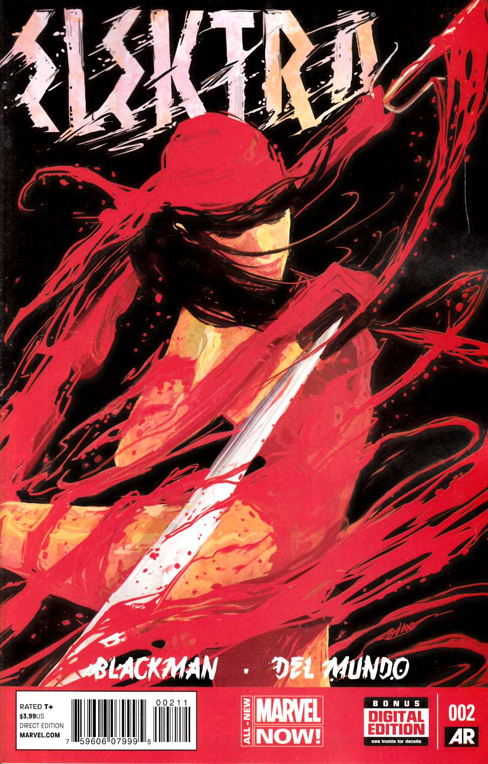 Elektra #2 [Marvel Comic] THUMBNAIL