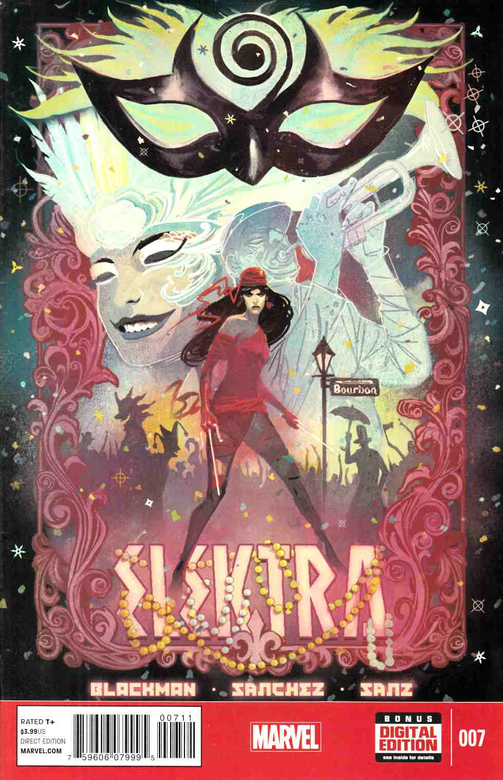 Elektra #7 [Marvel Comic] THUMBNAIL