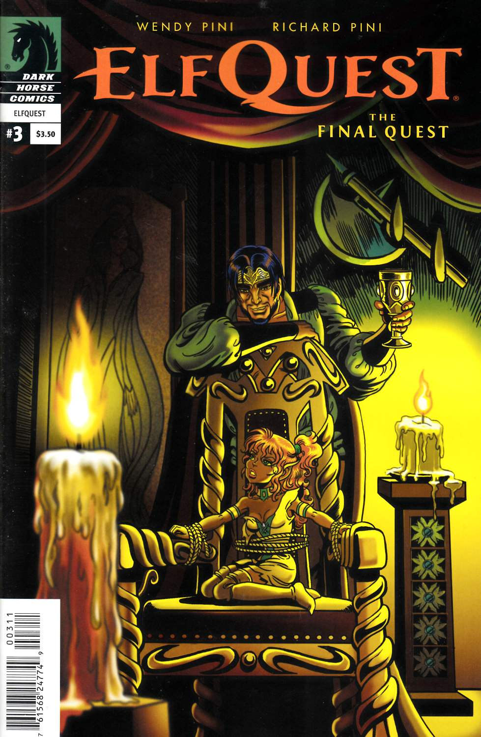Elfquest Final Quest #3 [Dark Horse Comic] THUMBNAIL
