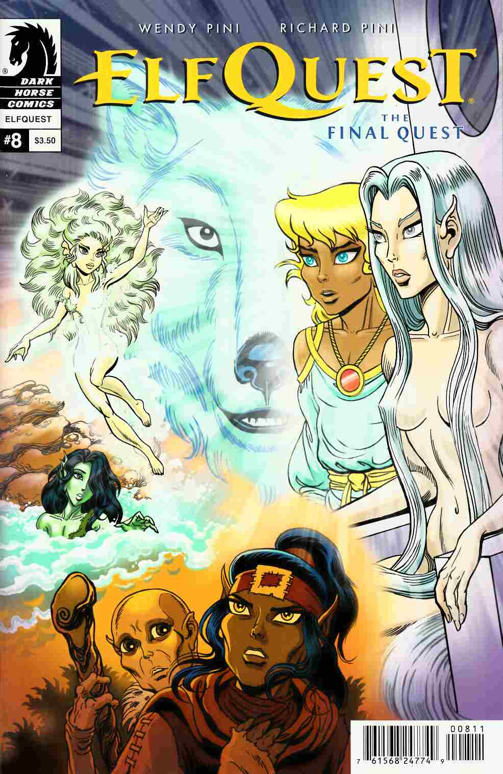 Elfquest Final Quest #8 [Dark Horse Comic] THUMBNAIL
