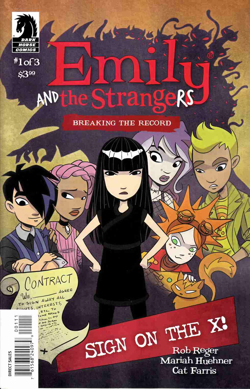Emily & the Strangers Breaking Record #1 [Dark Horse Comic] THUMBNAIL