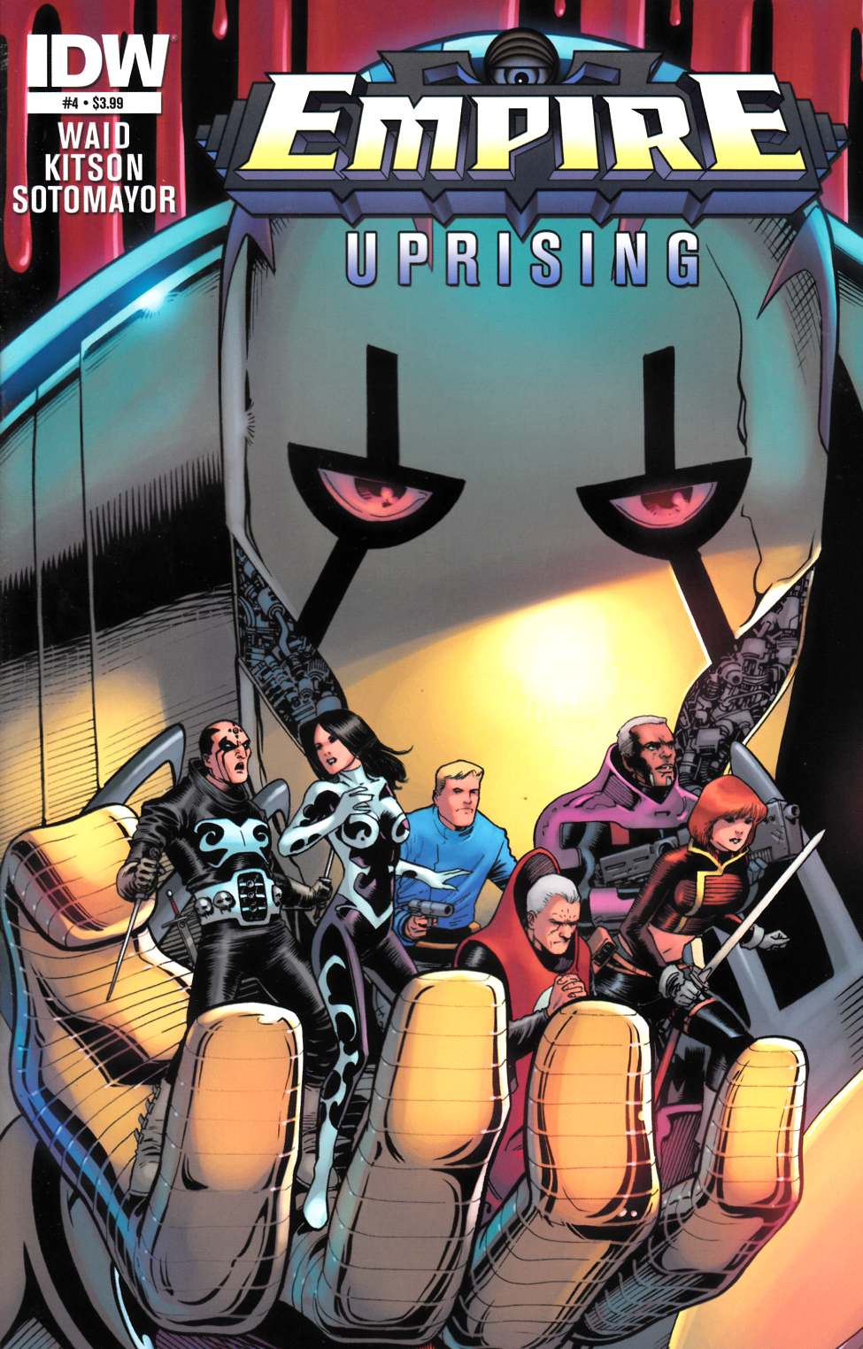 Empire Uprising #4 [IDW Comic]