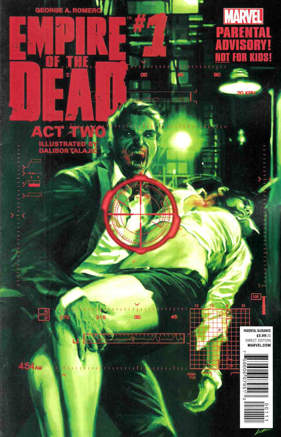 George Romeros Empire of Dead Act Two #1 [Marvel Comic] LARGE