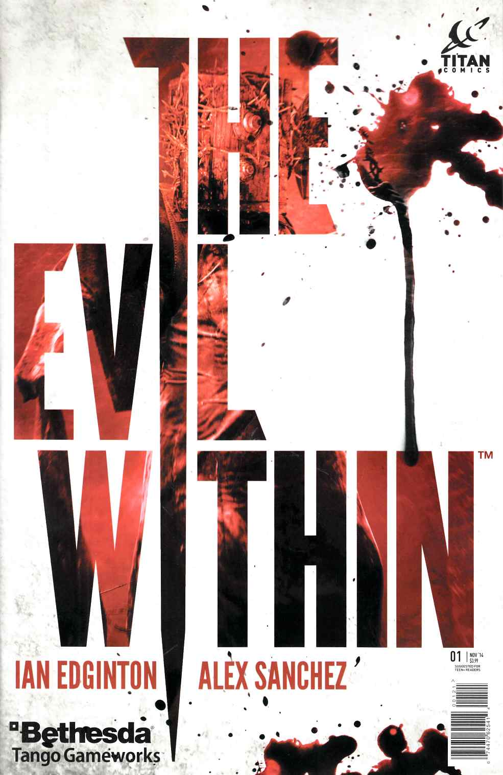 Evil Within #1 Video Game Variant Cover [Comic]_THUMBNAIL