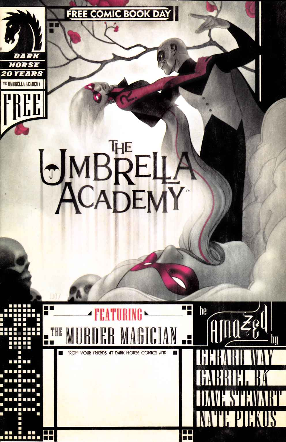 Umbrella Academy Apocalypse Suite FCBD Edition (One Shot) Near Mint (9.4) [Dark Horse Comic]