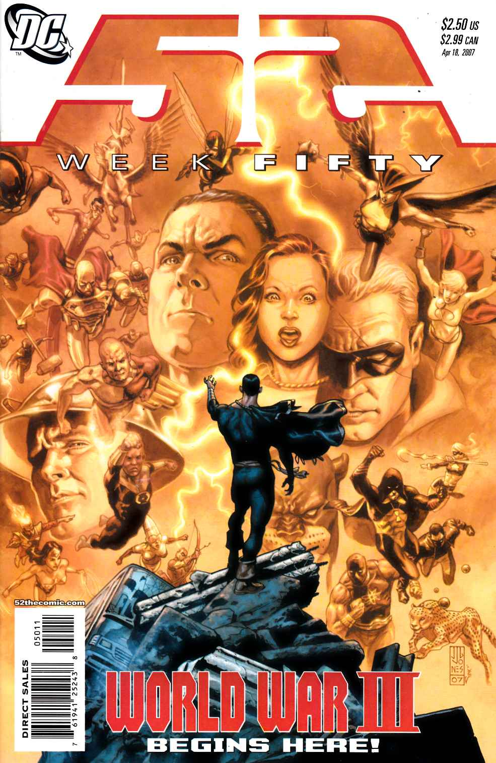 52 Week #50 Near Mint (9.4) [DC Comic] THUMBNAIL