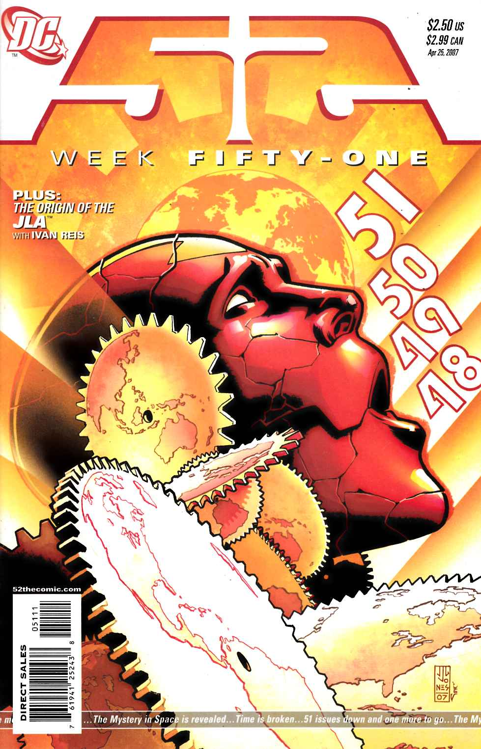 52 Week #51 Near Mint (9.4) [DC Comic] THUMBNAIL