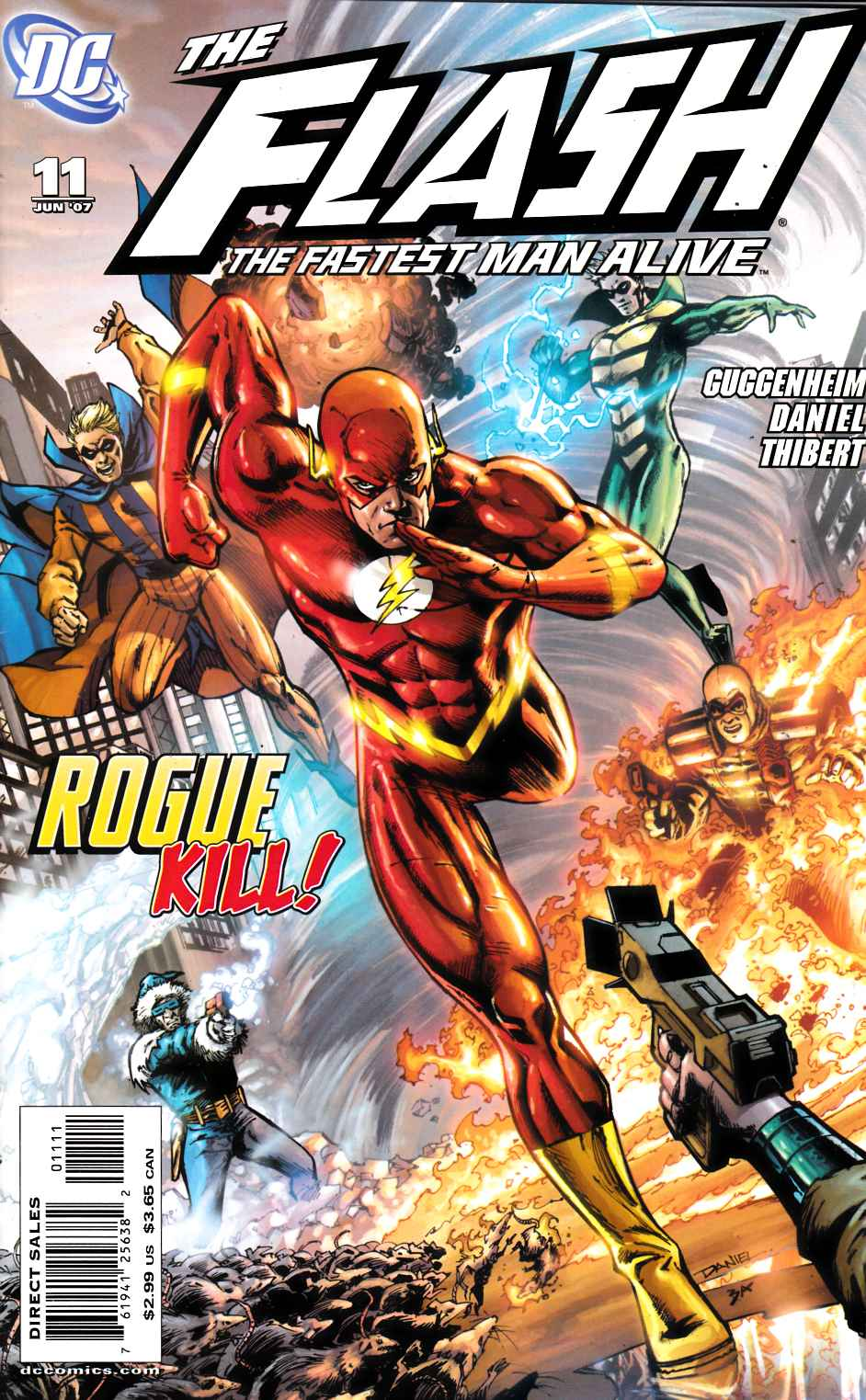 Flash Fastest Man Alive #11 Cover B Very Fine (8.0) [DC Comic] THUMBNAIL