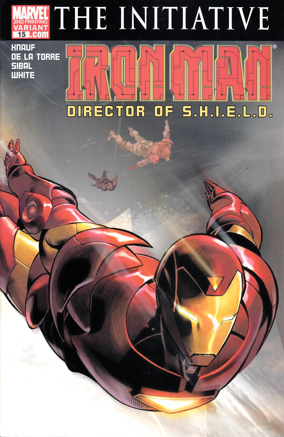 Iron Man #15 Second Printing Very Fine (8.0) [Marvel Comic]_THUMBNAIL