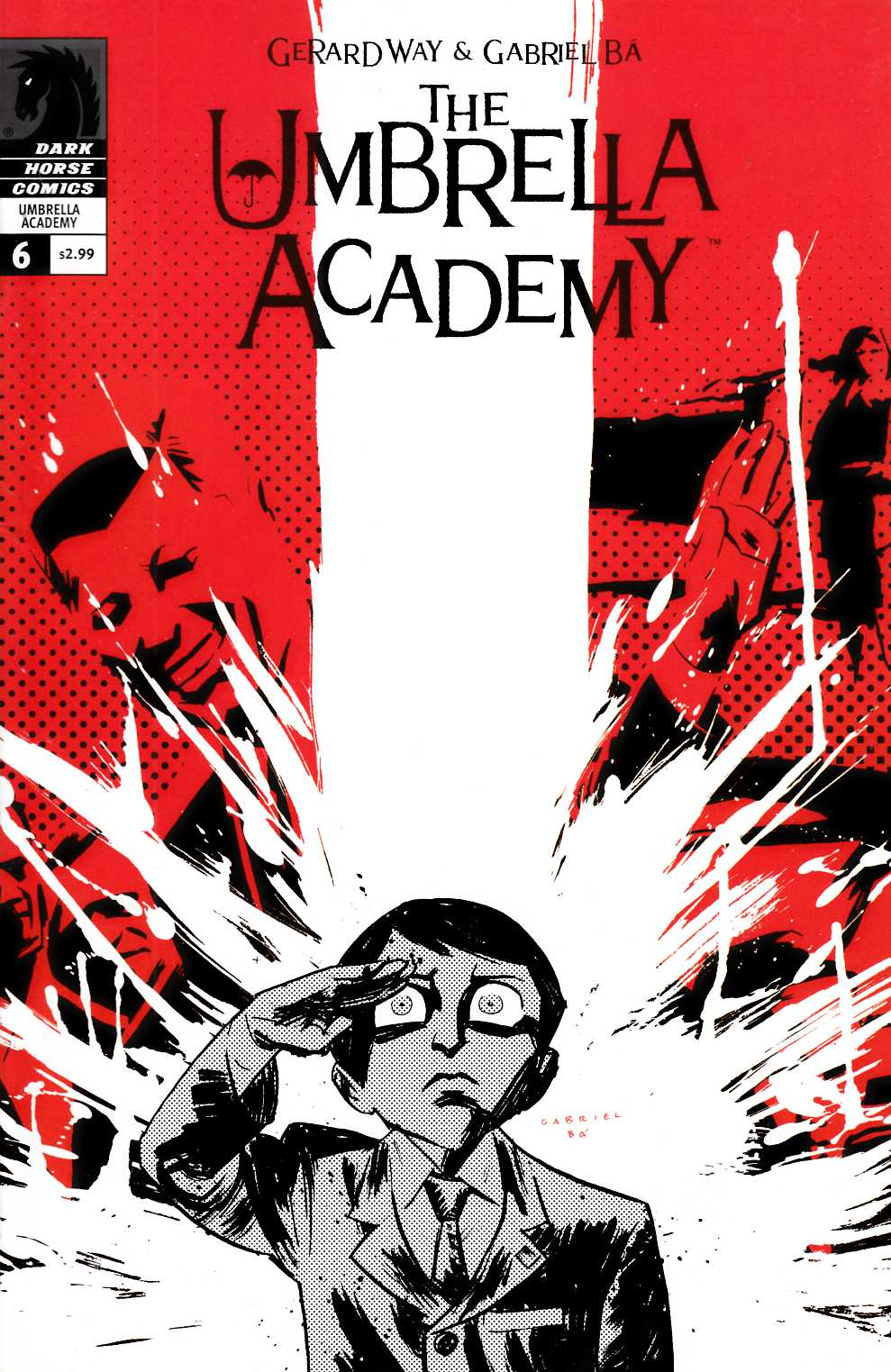 Umbrella Academy Dallas #6 Very Fine (8.0) [Dark Horse Comic] THUMBNAIL