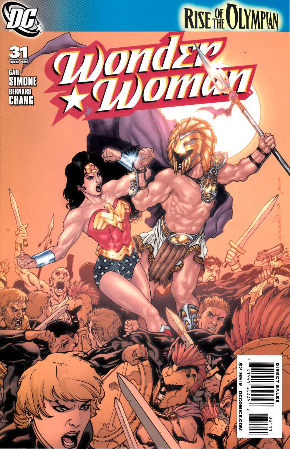 Wonder Woman #31 Near Mint (9.4) [DC Comic] LARGE