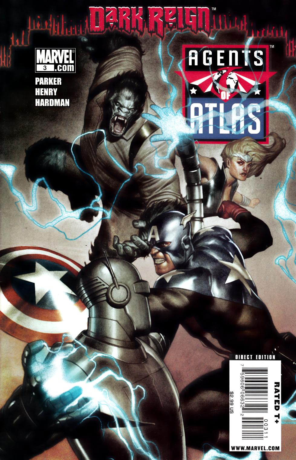 Agents of Atlas #3 Fine (6.0) [Marvel Comic] THUMBNAIL
