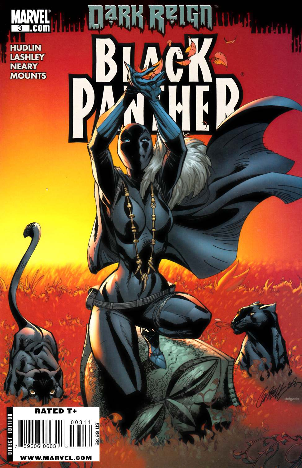 Black Panther #3 Near Mint Minus (9.2) [Marvel Comic] THUMBNAIL