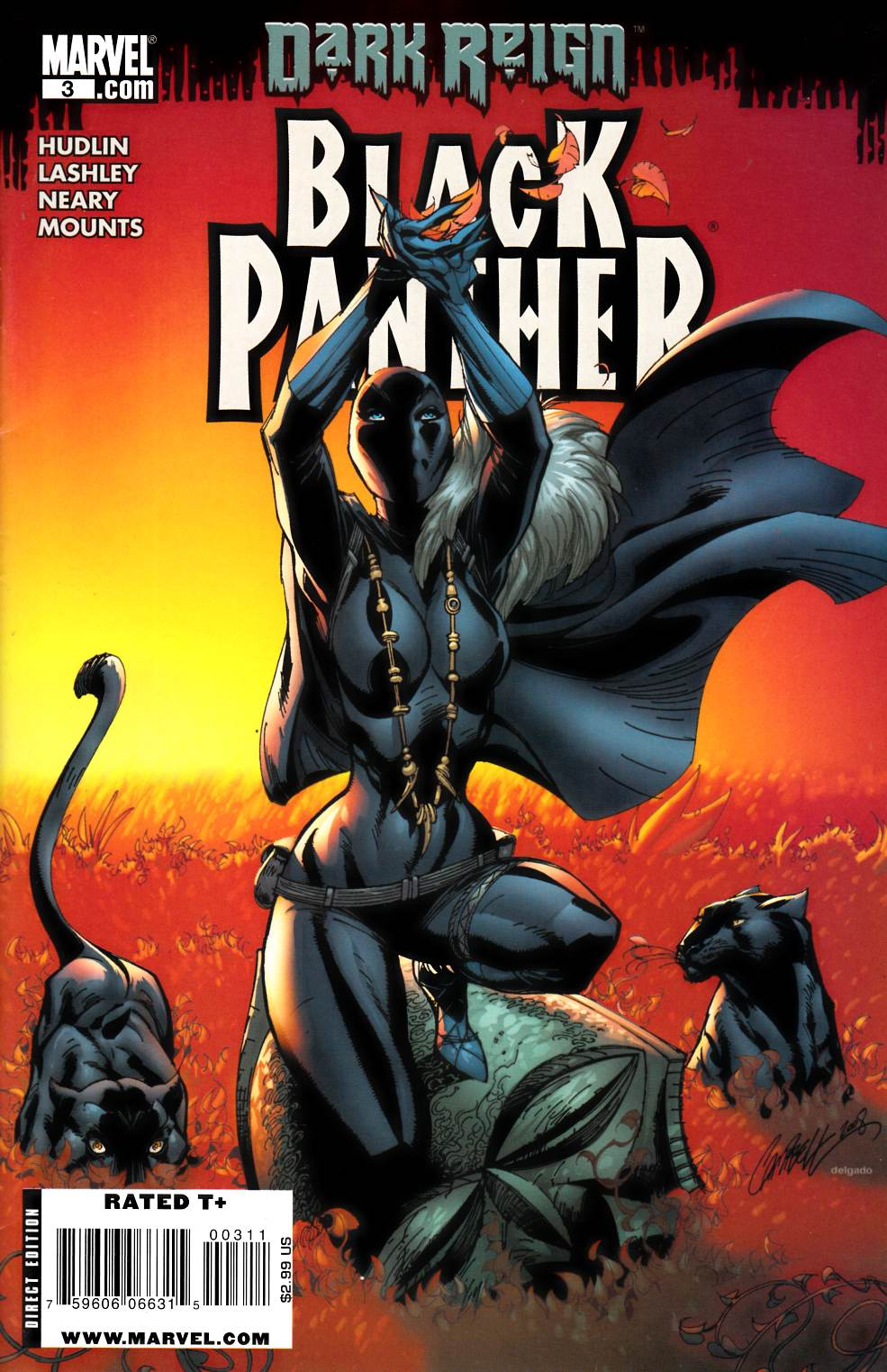 Black Panther #3 Fine Plus (6.5) [Marvel Comic] THUMBNAIL