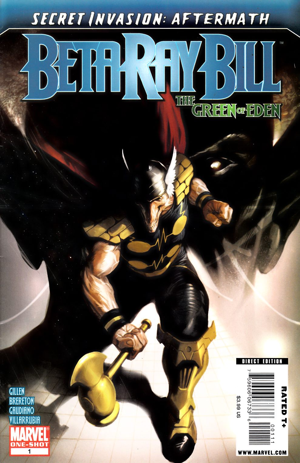 Secret Invasion Aftermath Beta Ray Bill Green of Eden #1 Fine (6.0) [Marvel Comic] THUMBNAIL