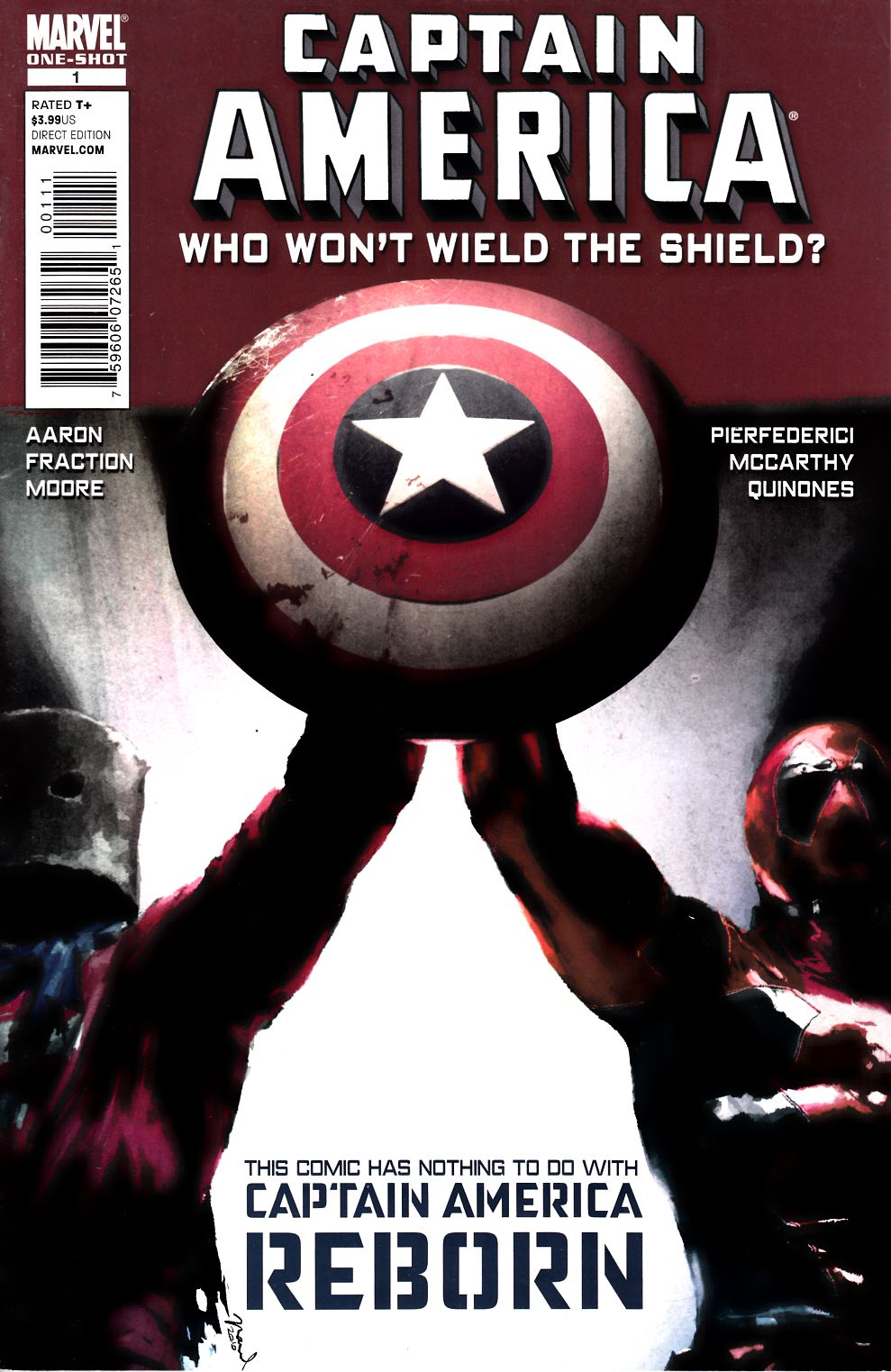 Captain America Who Won't Wield the Shield #1 Very Fine (8.0) [Marvel Comic]