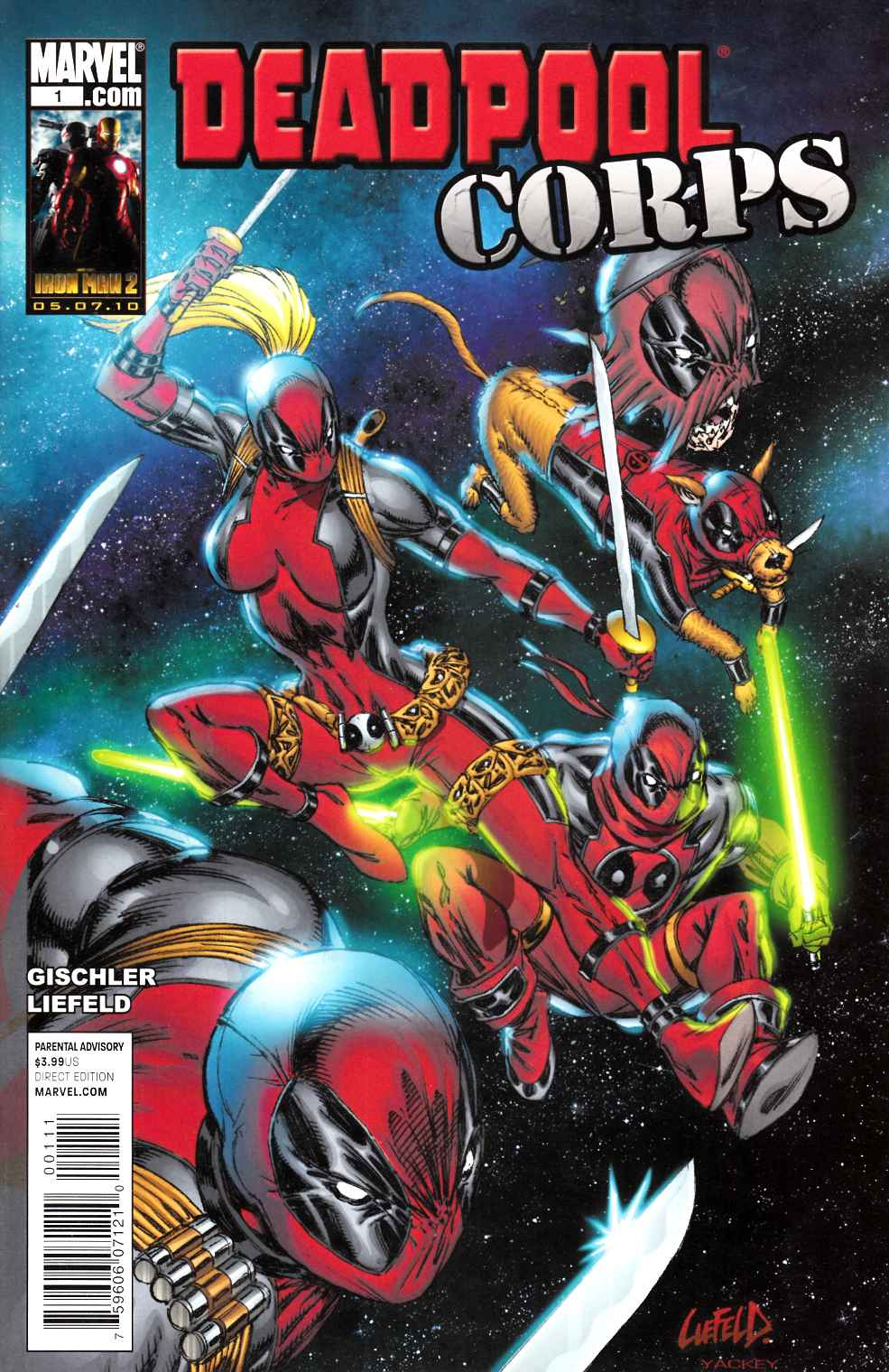 Deadpool Corps #1 Near Mint (9.4) [Marvel Comic] THUMBNAIL