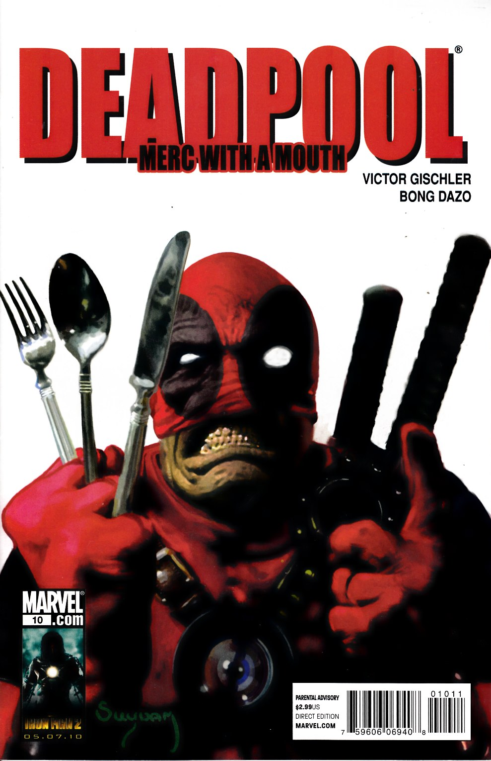 Deadpool Merc with a Mouth #10 Very Fine (8.0) [Marvel Comic] THUMBNAIL