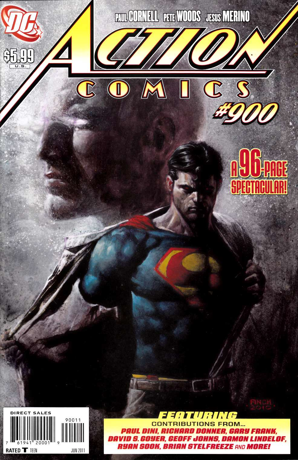 Action Comics #900 Near Mint (9.4) [DC Comic]