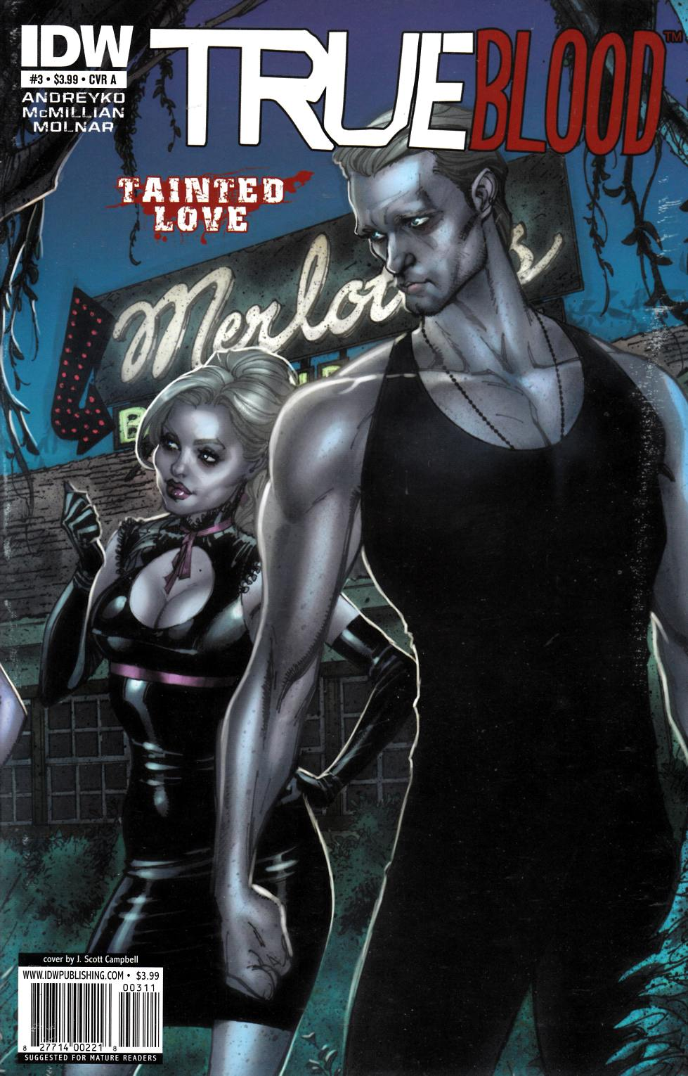 True Blood Tainted Love #3 Cover A Near Mint Minus (9.2) [IDW Comic] THUMBNAIL