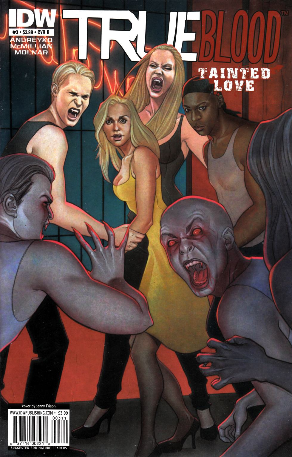 True Blood Tainted Love #3 Cover B Near Mint (9.4) [IDW Comic] THUMBNAIL