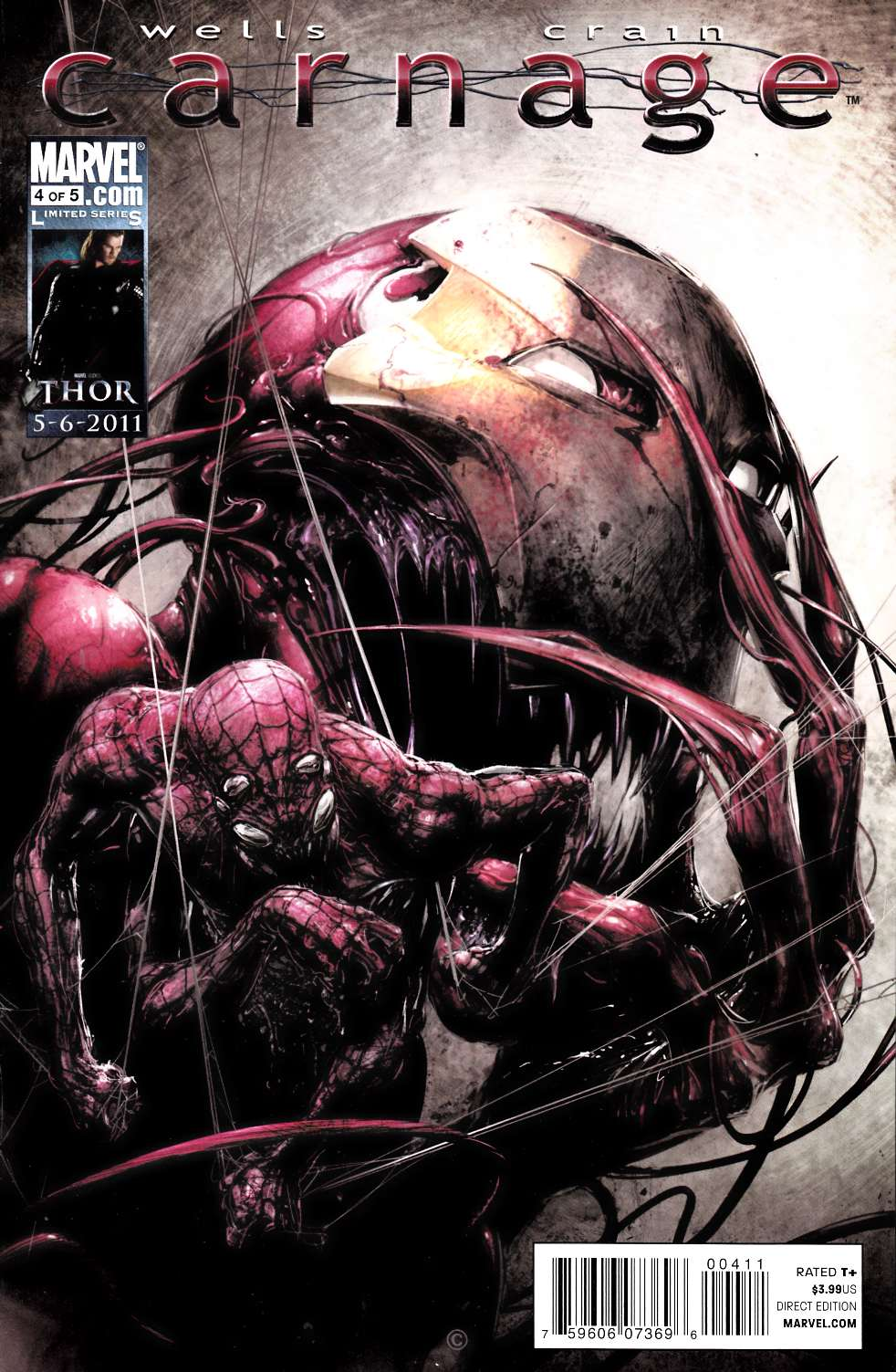 Carnage #4 Near Mint (9.4) [Marvel Comic] THUMBNAIL
