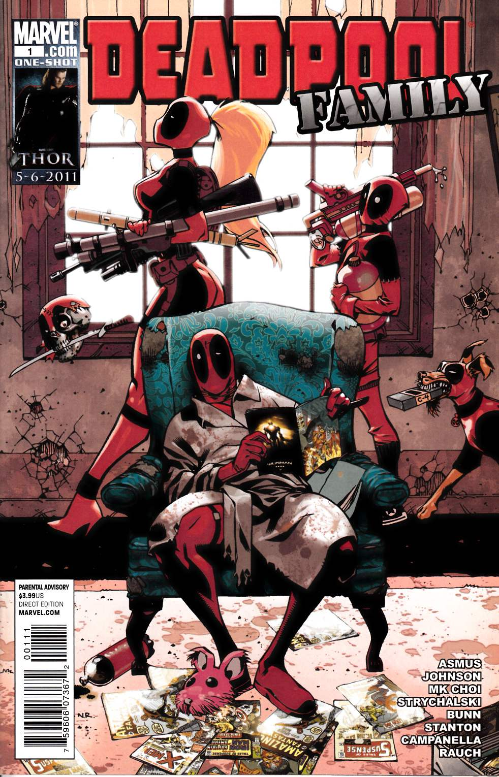 Deadpool Family #1 Near Mint Minus (9.2) [Marvel Comic]