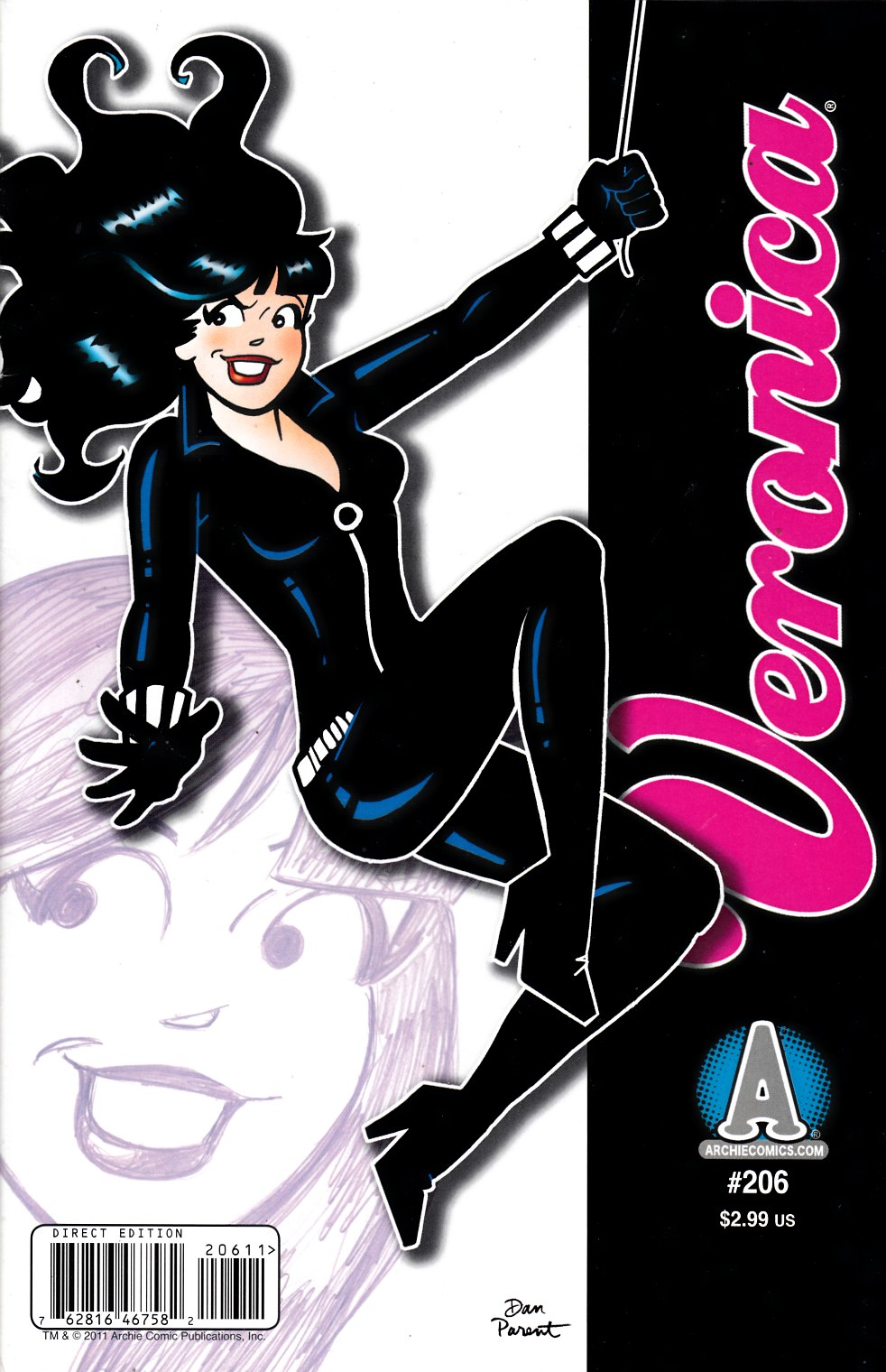 Veronica #206 Fine (6.0) [Archie Comic] LARGE