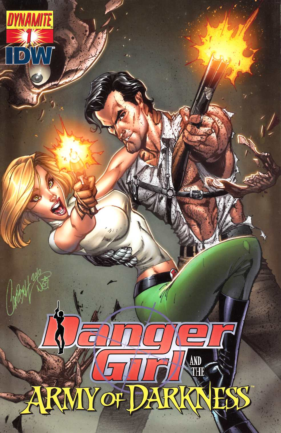 Danger Girl Army of Darkness #1 Cover A Near Mint Minus (9.2) [Dynamite Comic] LARGE