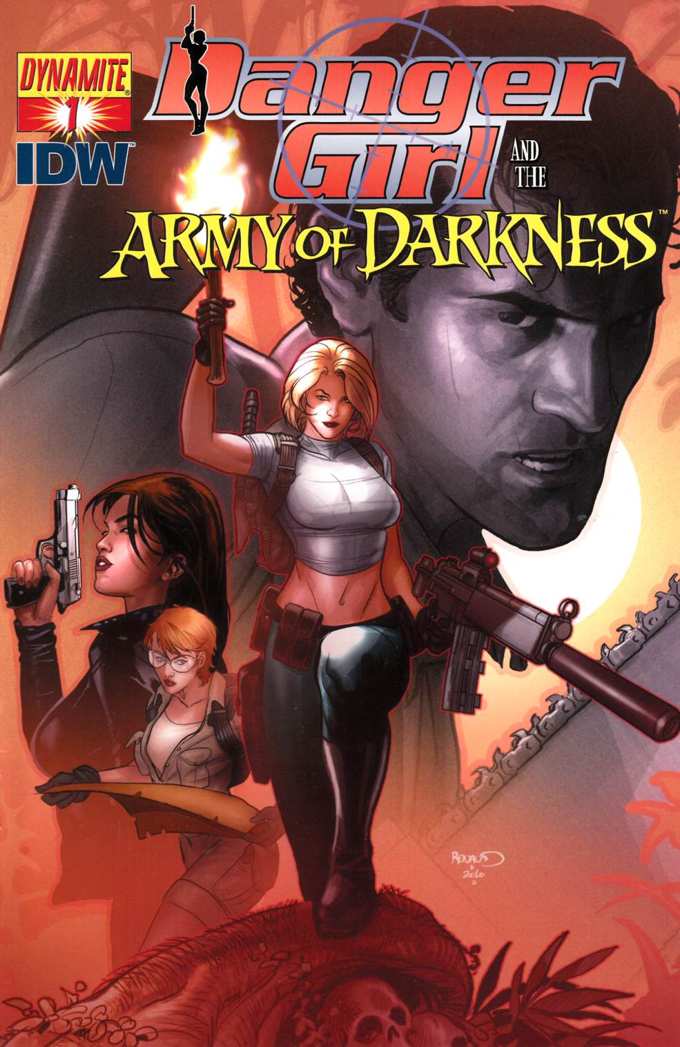 Danger Girl Army of Darkness #1 Cover B [Dynamite Comic]_THUMBNAIL