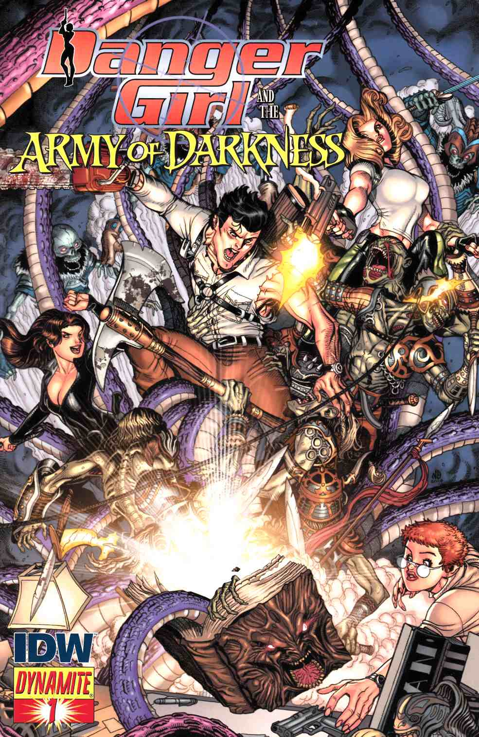 Danger Girl Army of Darkness #1 Cover C [Dynamite Comic] THUMBNAIL