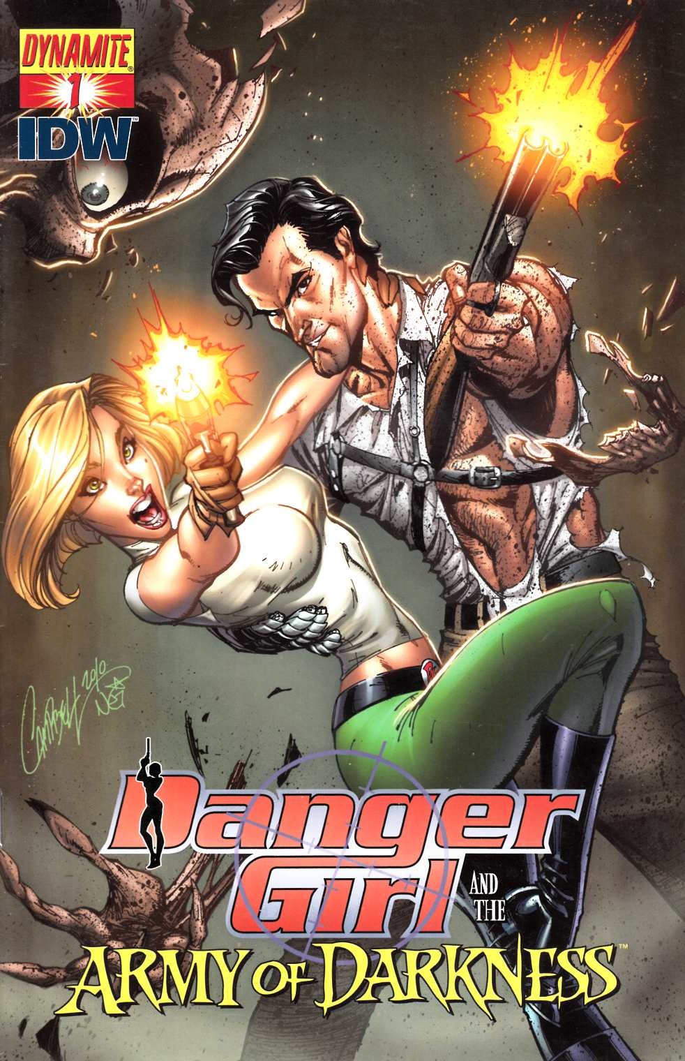 Danger Girl Army of Darkness #1 Cover A Very Fine (8.0) [Dynamite Comic] THUMBNAIL