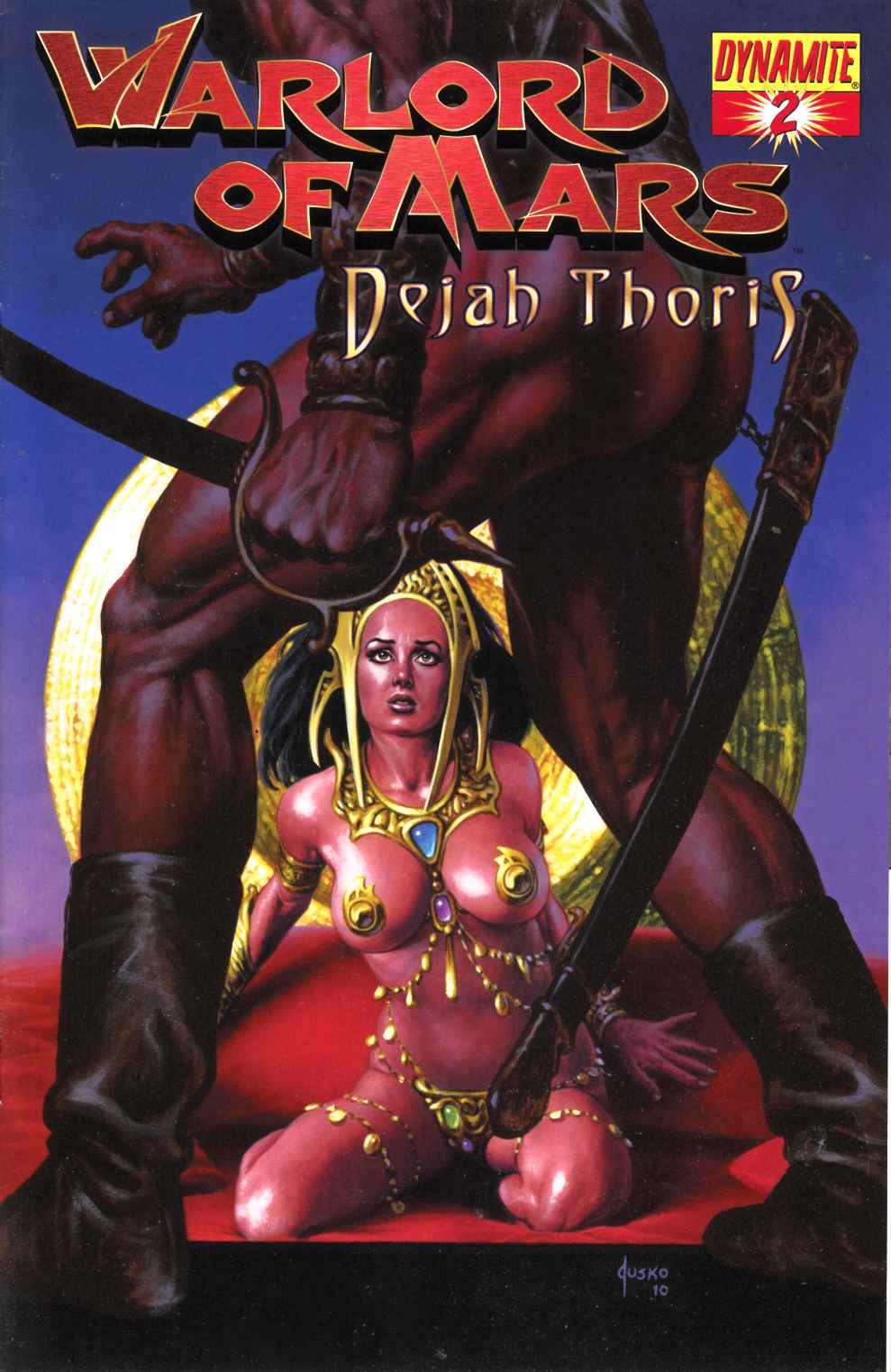 Warlord of Mars Dejah Thoris #2 Jusko Cover Very Fine Plus (8.5) [Dynamite Comic] THUMBNAIL