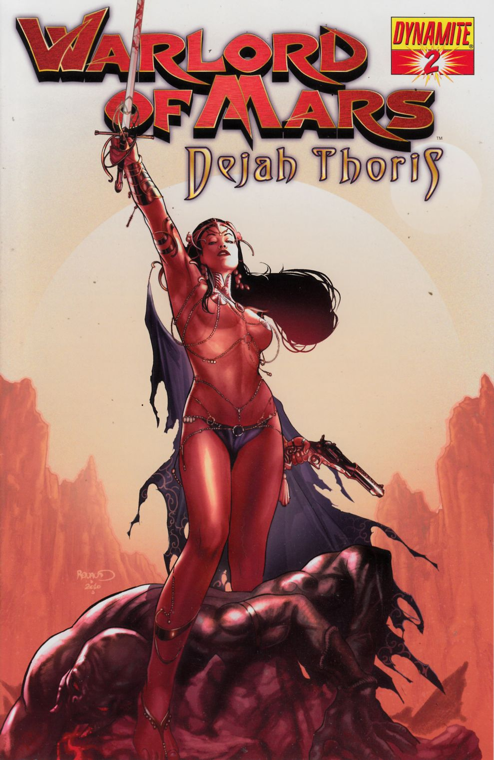 Warlord of Mars Dejah Thoris #2 Renaud Cover Near Mint (9.4) [Dynamite Comic] THUMBNAIL