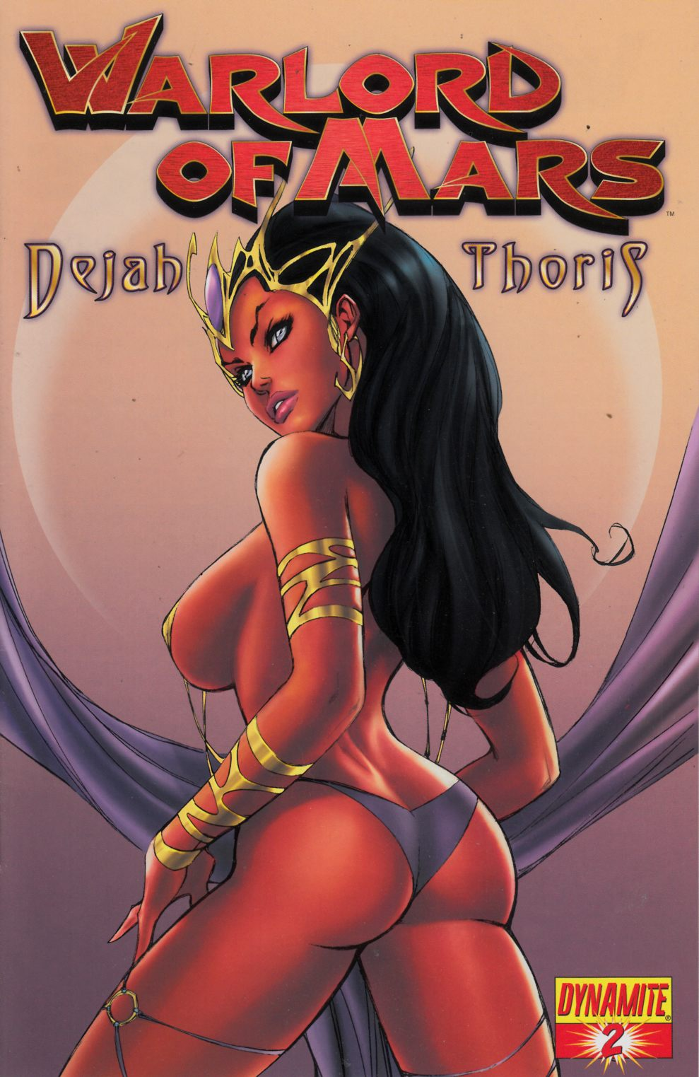Warlord of Mars Dejah Thoris #2 Garza Cover Very Fine (8.0) [Dynamite Comic] THUMBNAIL