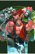 Mighty Skullkickers #1 Cover B- Stevens [Comic] THUMBNAIL