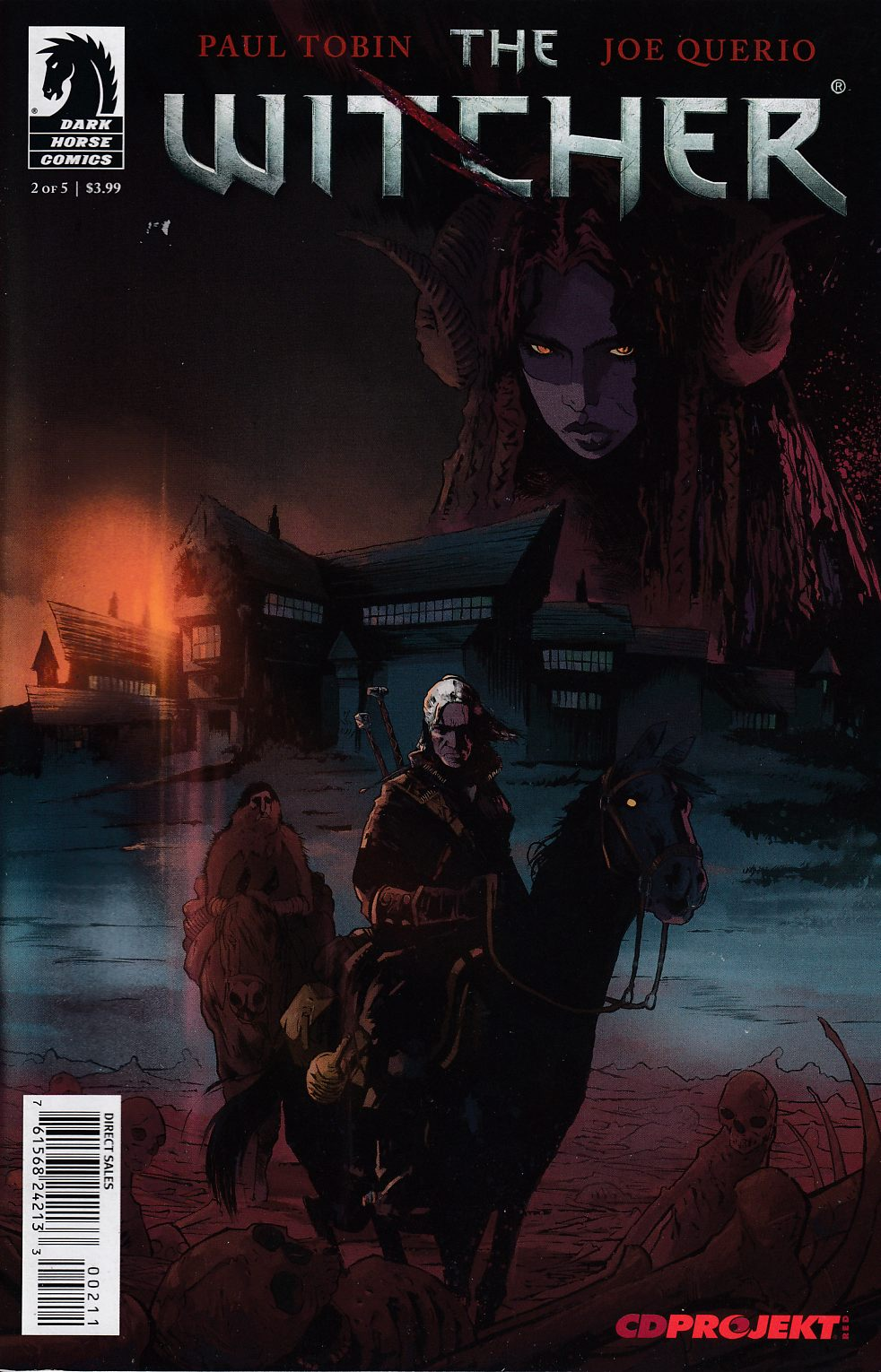 Witcher #2 Very Fine (8.0) [Dark Horse Comic] THUMBNAIL