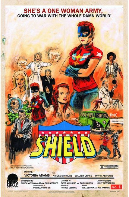 Shield (Dark Circle) #1 Dark Circle Movie Throwback Cover [Archie Comic]