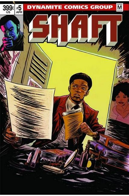 Shaft #5 Cover C- Greene [Dynamite Comic] THUMBNAIL