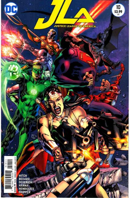 Justice League Of America #10 [DC Comic] LARGE