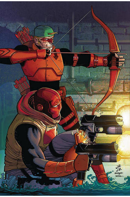Red Hood Arsenal #11 Romita Variant Cover [DC Comic]_THUMBNAIL
