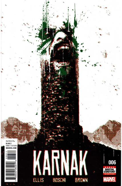 Karnak #6 [Marvel Comic] LARGE