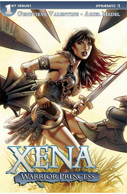 Xena Warrior Princess #1 Land Cover [Dynamite Comic] THUMBNAIL